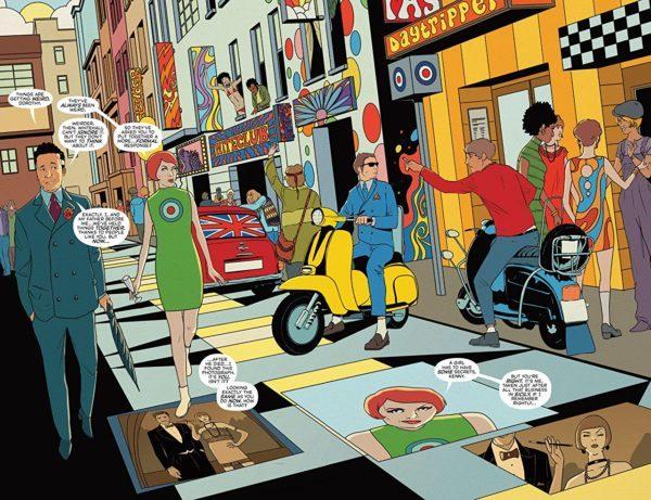 Punk's Not Dead #5 art by Martin Simmonds and Dee Cunniffe