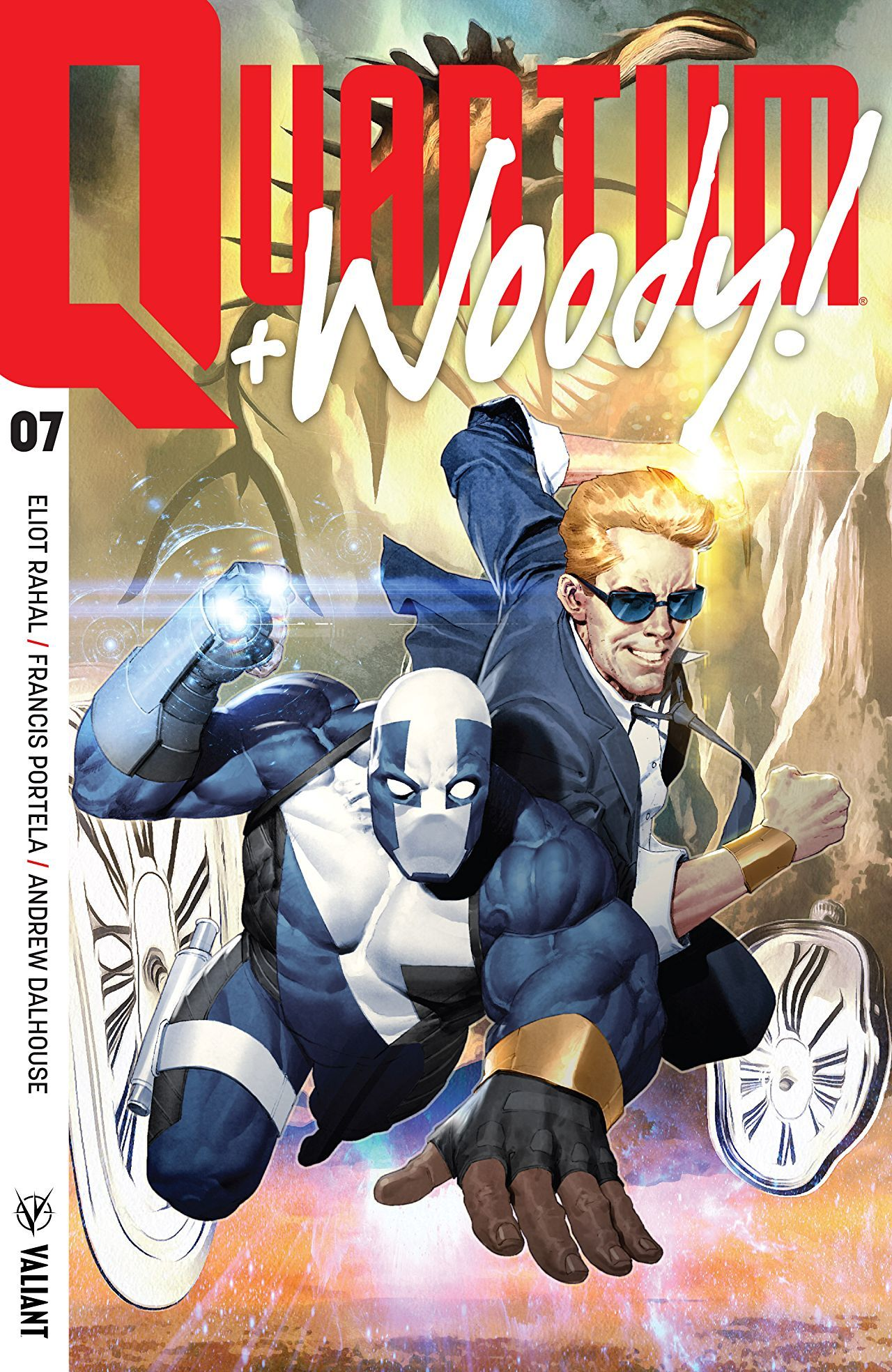 Quantum and Woody #7 Review: Quantum Becomes Superman - Bleeding Cool News And R...