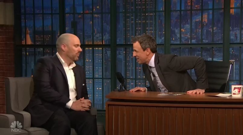What Did Tom King Talk About on Late Night With Seth Meyers?