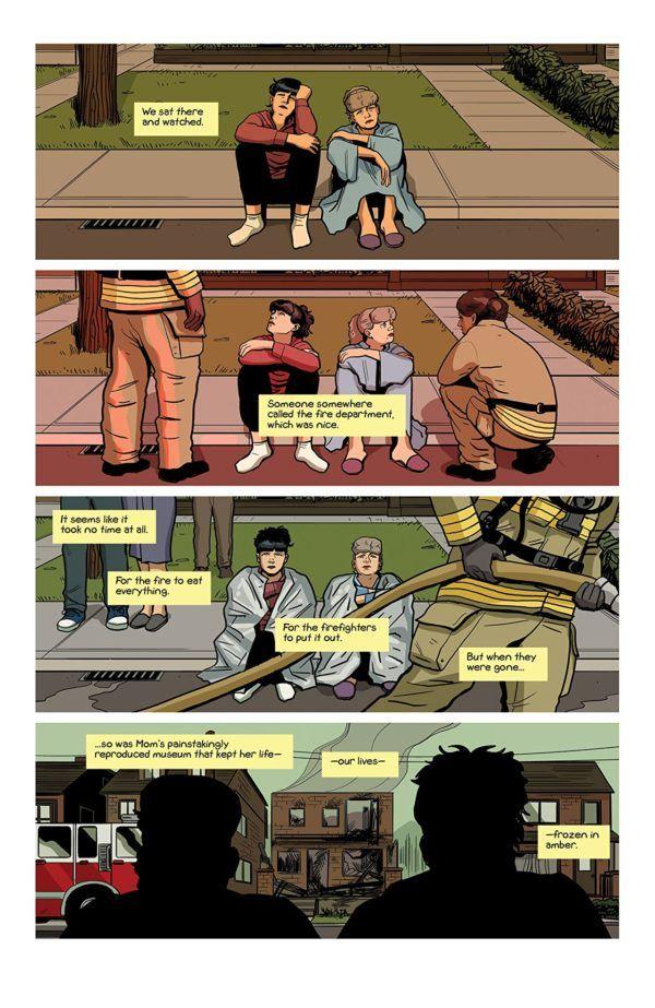 Sex Criminals #25 art by Chip Zdarsky