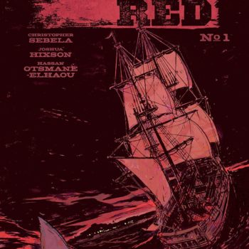 Shanghai Red #1 cover by Hassan Otsmane-Elhaou, Tyler Boss, and Joshua Hixson