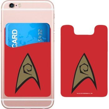 Star Trek Logo Smartphone Card Holder Icon Heroes SDCC 3