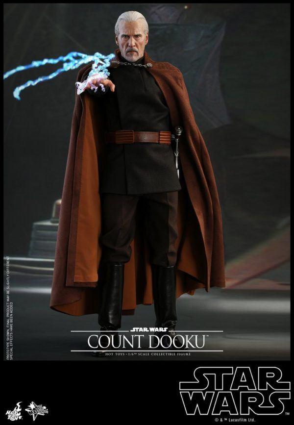Star Wars Hot Toys Dooku 1