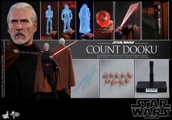 Star Wars Hot Toys Dooku 10