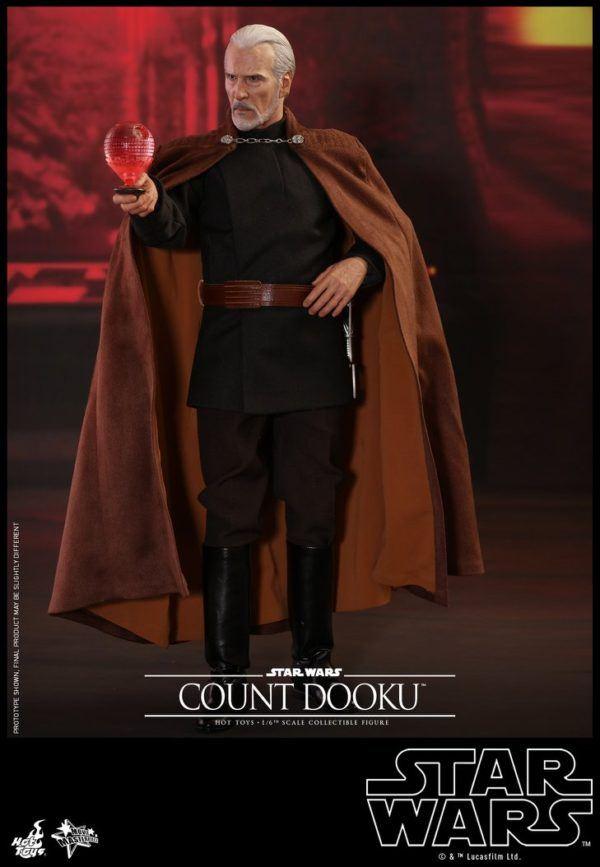 Star Wars Hot Toys Dooku 2