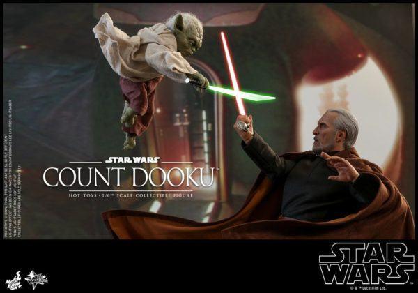 Star Wars Hot Toys Dooku 3