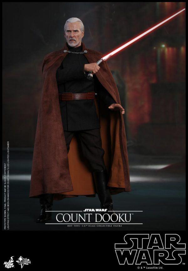 Star Wars Hot Toys Dooku 4