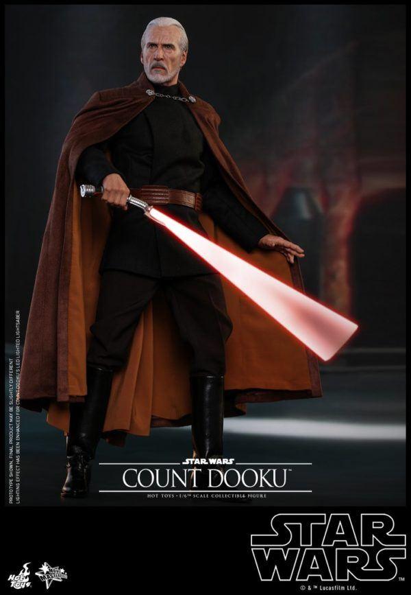 Star Wars Hot Toys Dooku 5