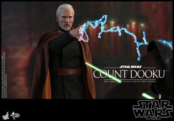 Star Wars Hot Toys Dooku 6