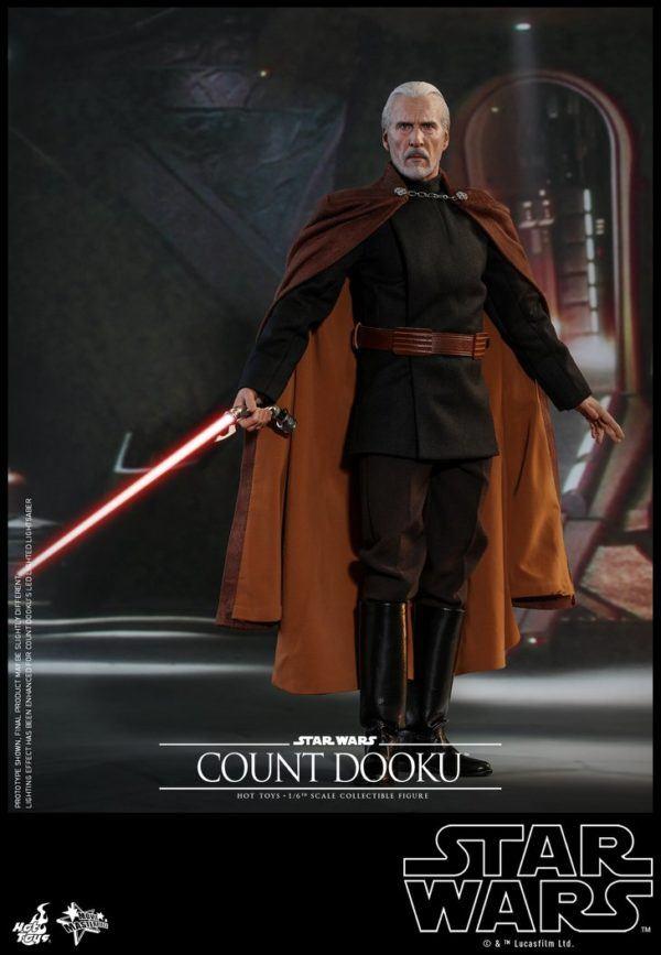 Star Wars Hot Toys Dooku 8