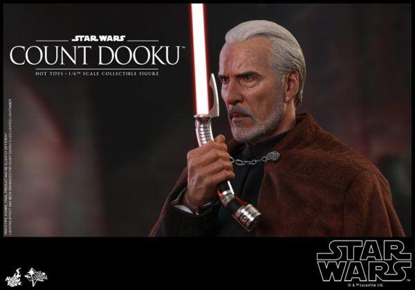 Star Wars Hot Toys Dooku 9