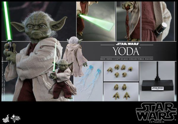 Star Wars Hot Toys Yoda 10