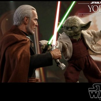Star Wars Hot Toys Yoda 2