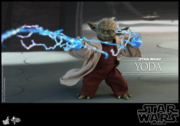 Star Wars Hot Toys Yoda 3
