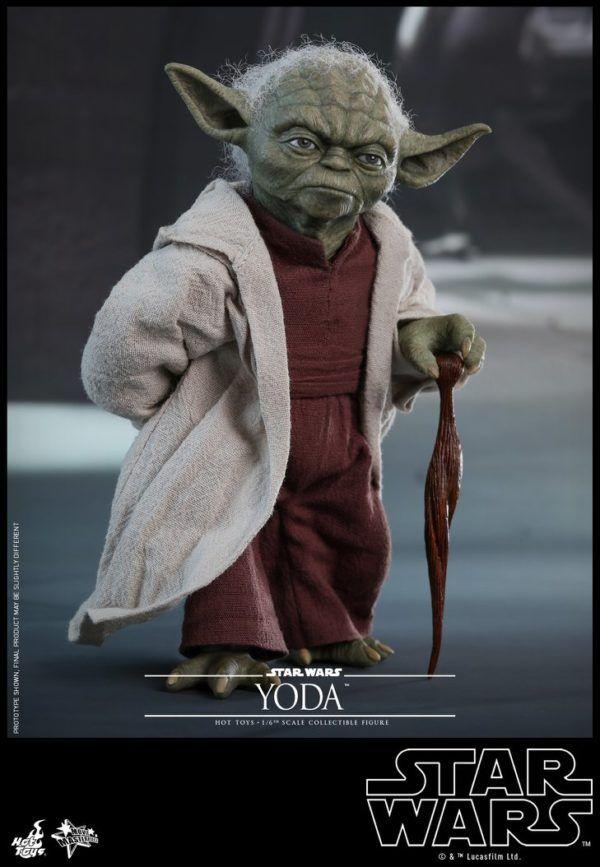 Star Wars Hot Toys Yoda 7