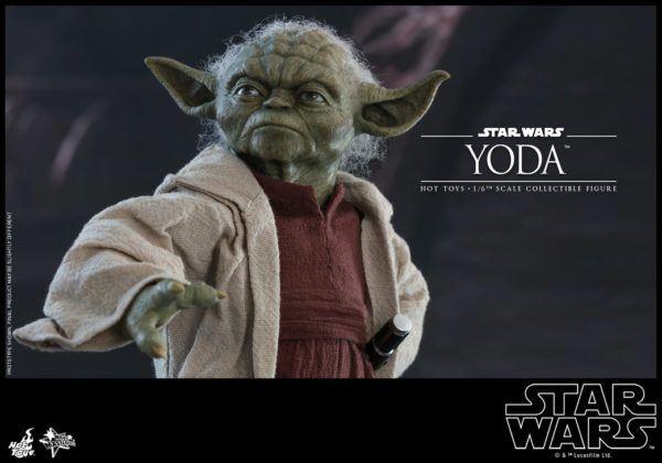 Star Wars Hot Toys Yoda 9