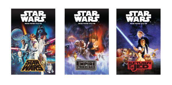 Star Wars OT Pins SDCC