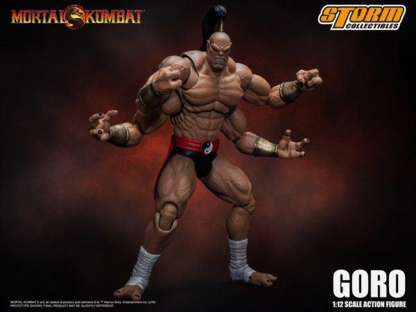 Storm Collectibles Mortal Kombat Goro 1