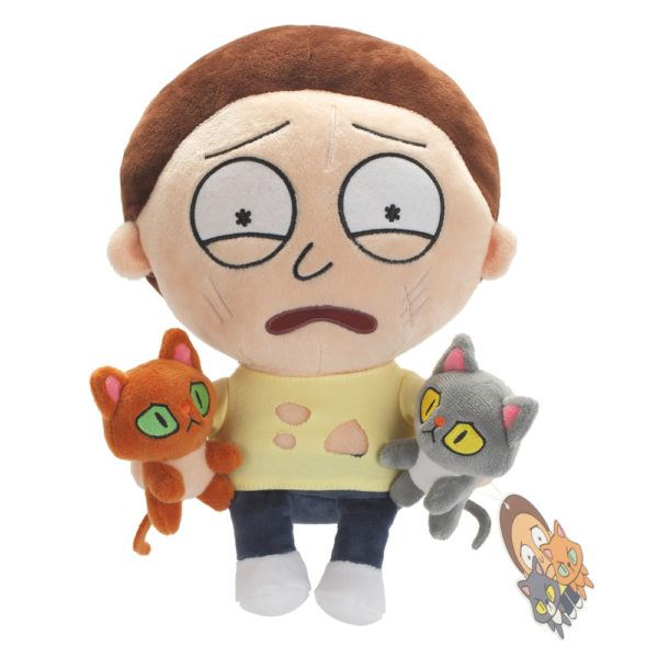 Symbiote Studios SDCC Exclusive Rick and Morty Pocket Mortys Two Cat Morty Plush