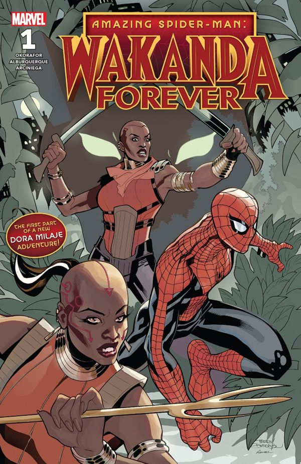 Wakanda Forever: Amazing Spider-Man #1 cover by Terry Dodson
