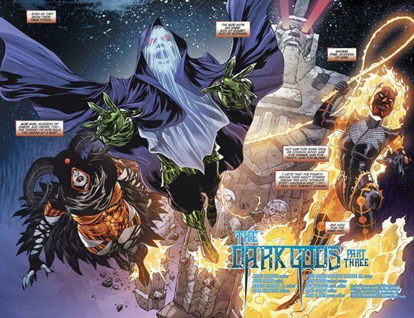 Wonder Woman #48 art by Jesus Merino and Romulo Fajardo Jr.