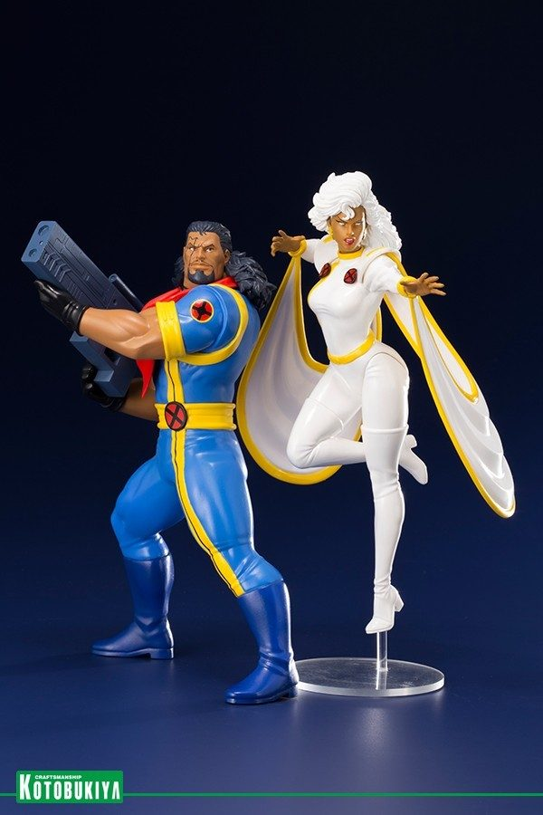 X-Men '92 Bishop and Storm Kotobukiya Statue