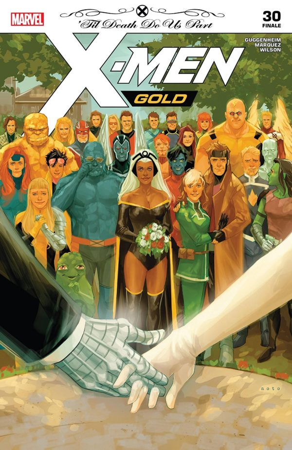 X-Men: Golld #30 cover by Phil Noto