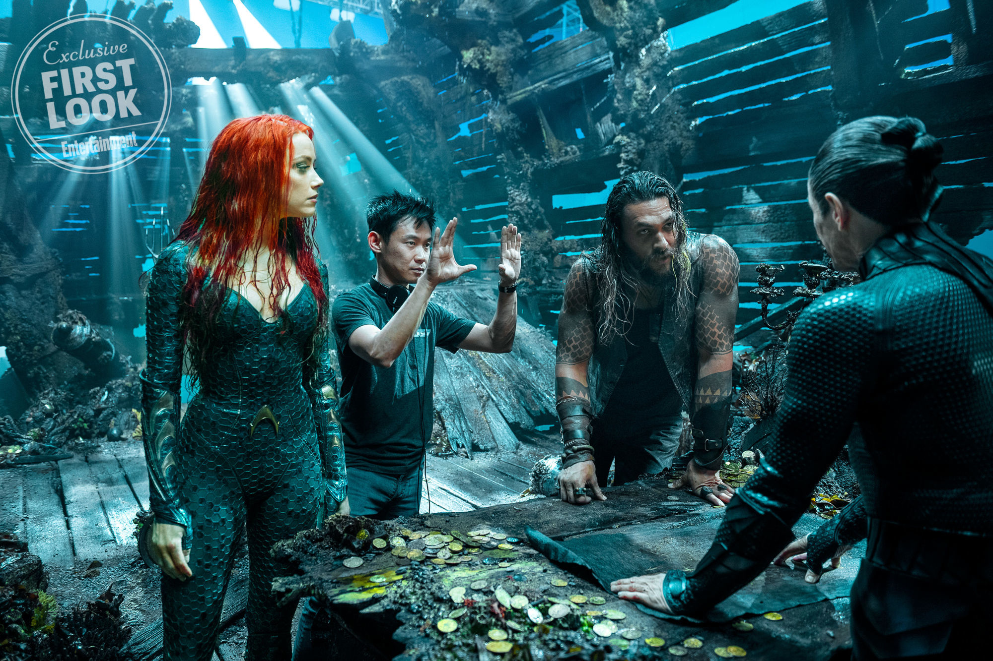 Director James Wan Talks About The Tone Of Aquaman Sound Books Batman V Superman Now We Have Right Around Corner And Collider Asked How His Movie Is Different From