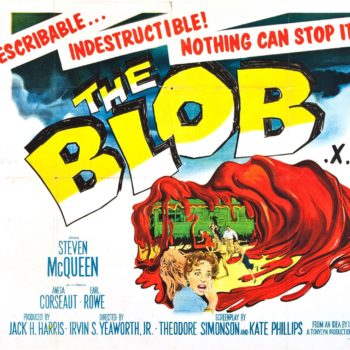 The Blob 1958 poster