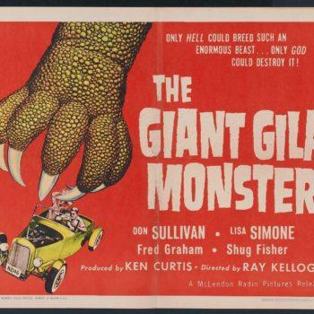 Giant Gila Monster poster