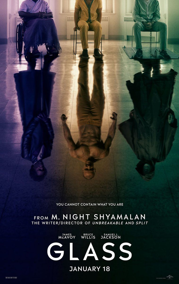 M  Night Shyamalan Shares the First Poster for 'Glass'