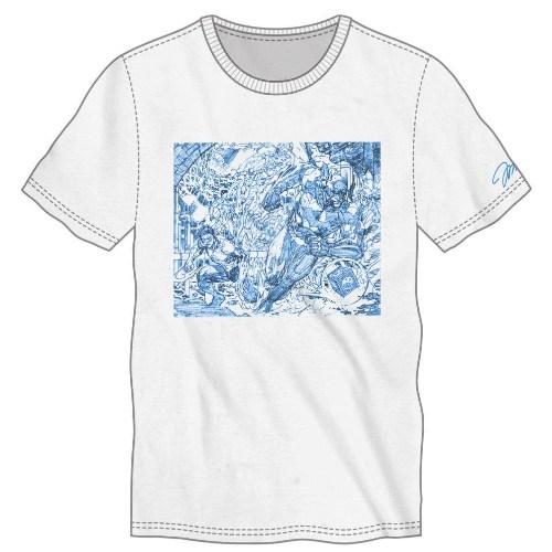 ThinkGeek SDCC Exclusive Jim Lee DC Heroes Shirt