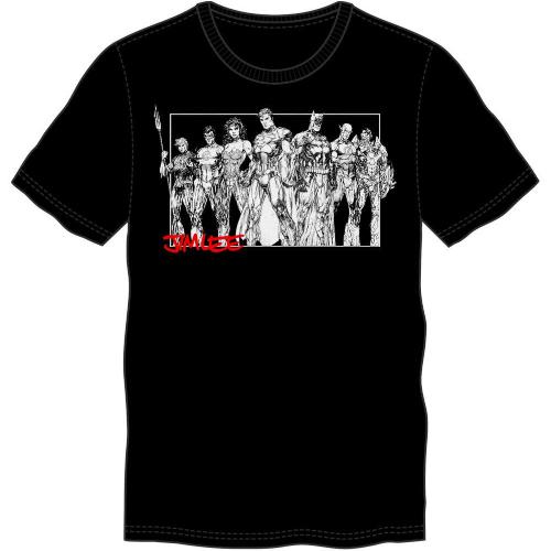 ThinkGeek SDCC Exclusive Jim Lee Justice League Shirt