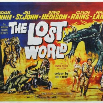 The Lost World 1960 poster
