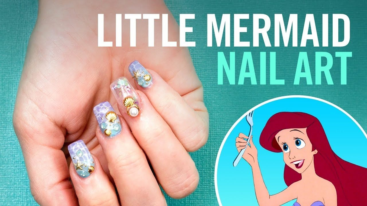- Splash Into Summer With 'The Little Mermaid' Nail Art - Bleeding Cool