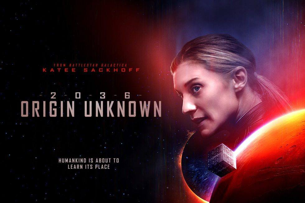 Katee Sackhoff Talks AI, Bruce Willis, and '2036 Origin Unknown'