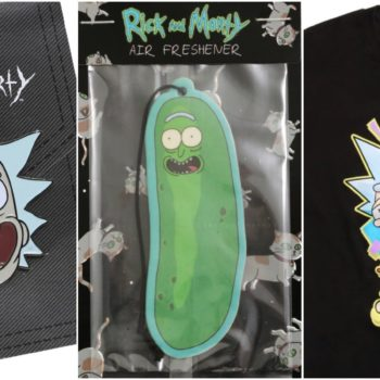rick and morty father's day merch