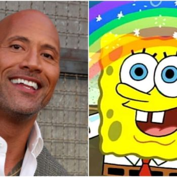 spongebob the rock