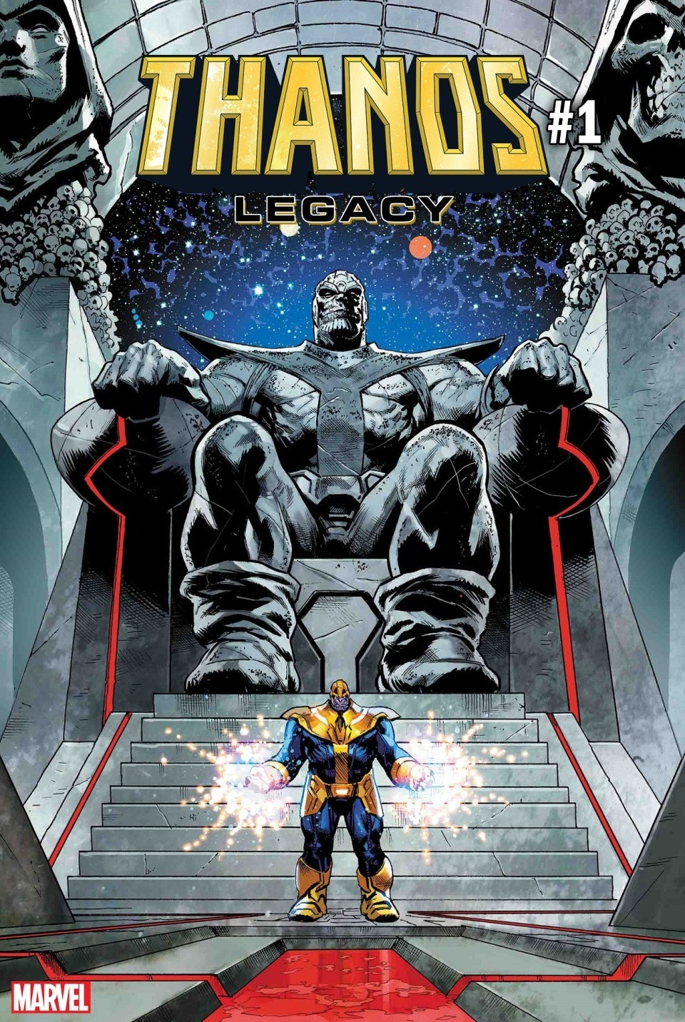 Image result for Thanos Legacy #1 (One Shot)