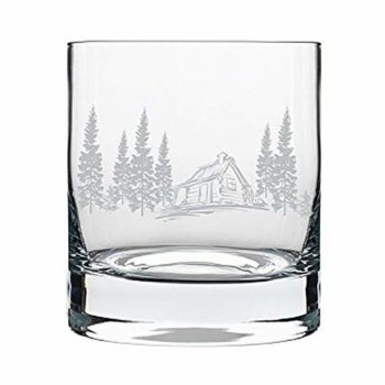 amazon prime day exclusive cabin in the woods glass