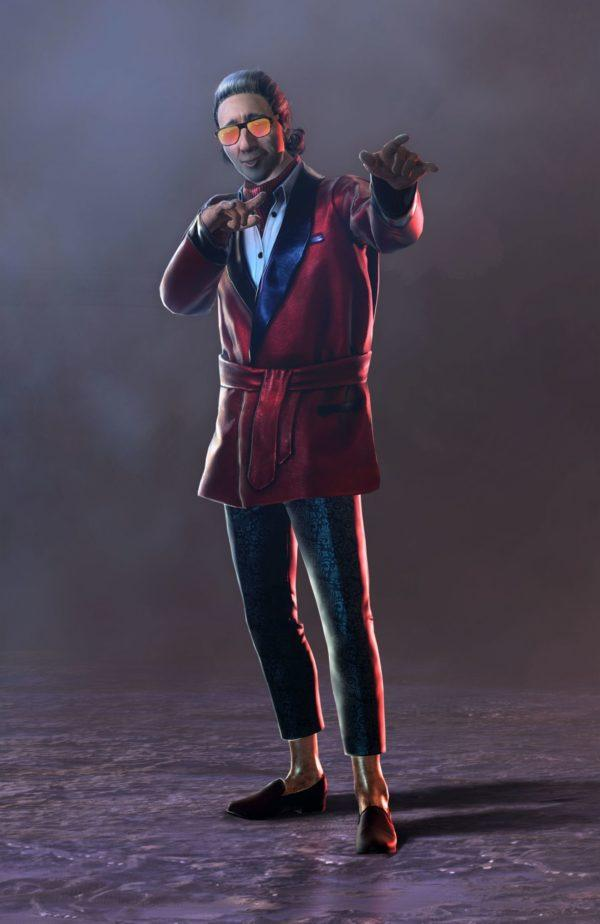 ACE SMOKING jacket dead by daylight