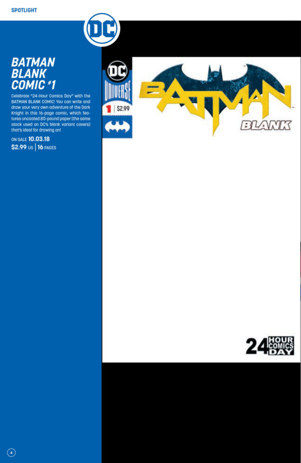 24 hour comic day saved dc blank comics now have 24 pages in them