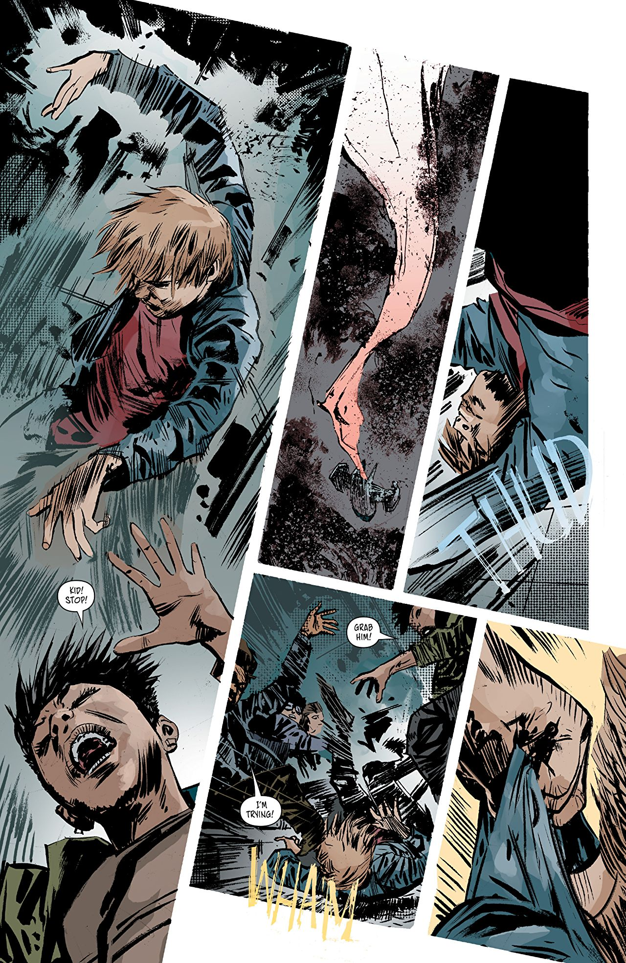 Aliens: Dust to Dust #2 art by Gabriel Hardman and Rain Beredo