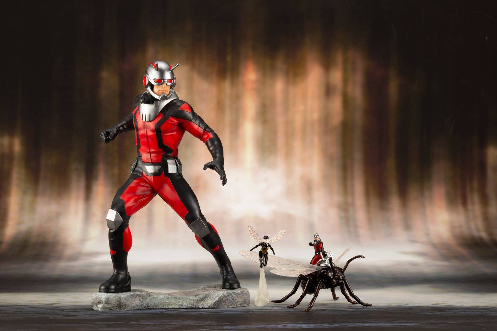 Ant Man and Wasp Kotobukiya Statue 1