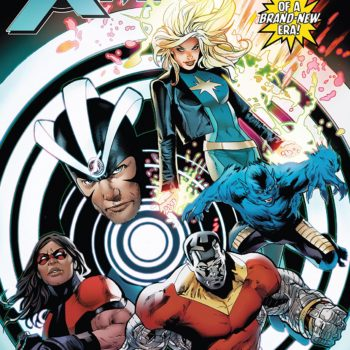 Astonishing X-Men #13 cover by Greg Land and Frank D'Armata