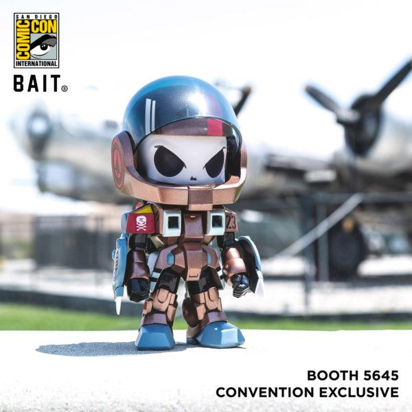 Bait SDCC Exclusive Huck Gee Robotech Hunter Figure Bronze