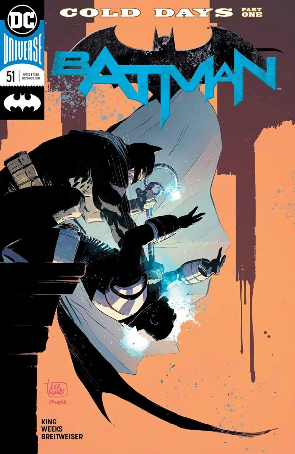 Batman #51 cover by Lee Weeks and Elizabeth Breitweiser