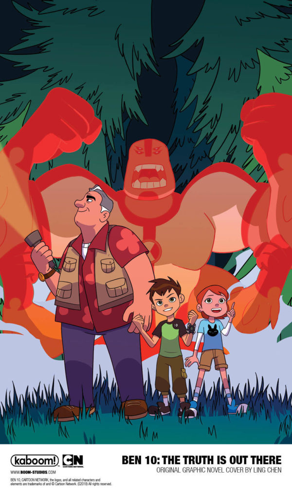 BOOM! Launches Ben 10 Comic Line with \'The Truth is Out There\' OGN
