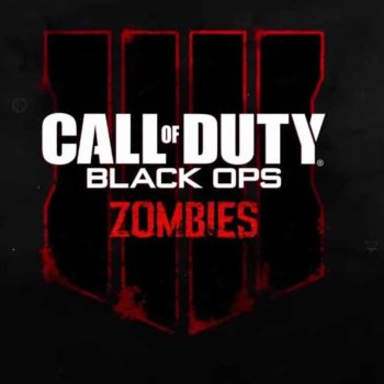 Black Ops 4 zombies