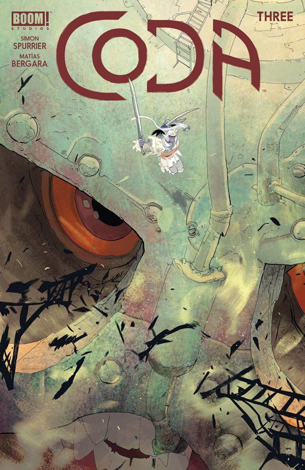Coda #3 cover by Julian Totino Tedesco and Matias Bergara